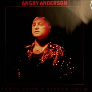 Angry Anderson: Beats From A Single Drum - Cover