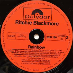 Ritchie Blackmore's Rainbow: Ritchie Blackmore's Rainbow (LP) - Bild 7