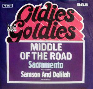 Middle Of The Road: Sacramento - Cover