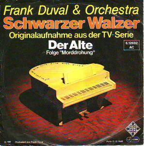 Cover - Frank Duval & Orchestra: Schwarzer Walzer