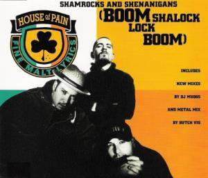 House Of Pain: Shamrocks And Shenanigans (Boom Shalock Lock Boom) - Cover