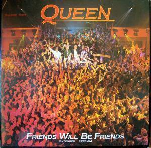 Queen: Friends Will Be Friends - Cover