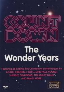 Cover - Richard Clapton: Countdown - The Wonder Years