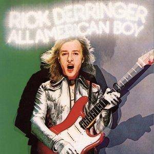 Rick Derringer: All American Boy - Cover
