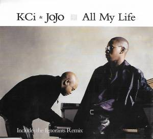 Cover - K-Ci & JoJo: All My Life