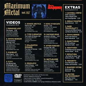 Metal Hammer - Maximum Metal Vol. 117 (DVD) - Bild 3