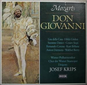 Wolfgang Amadeus Mozart: Don Giovanni - Cover