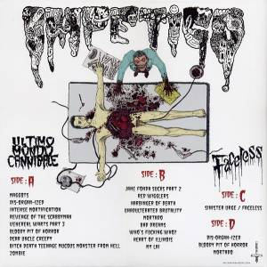 Impetigo: Ultimo Mondo Cannibale / Faceless (2-LP) - Bild 2