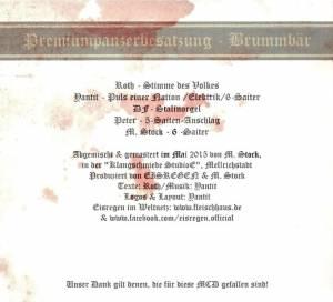 Eisregen: Brummbär (Mini-CD / EP) - Bild 2