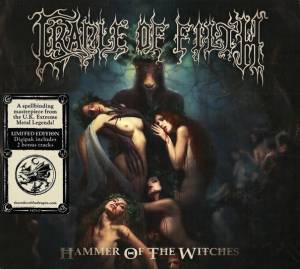 Cradle Of Filth: Hammer Of The Witches (CD) - Bild 2