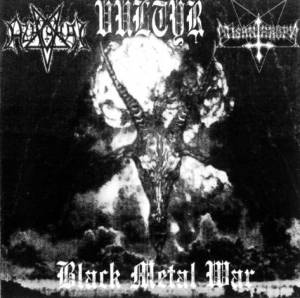 Cover - Azaghal: Black Metal War
