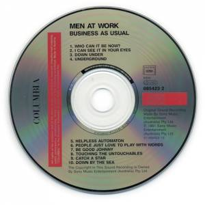 Men At Work: Business As Usual (CD) - Bild 3