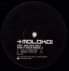 "Moloko: Sing It Back (Promo-12"") - Bild 3"