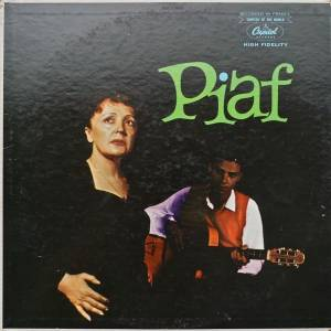 Édith Piaf: Piaf! - Cover