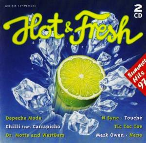 Hot & Fresh - Summer Hits 97 - Cover