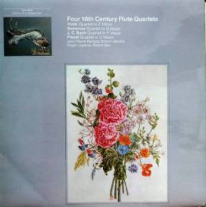 Four 18th Century Flute Quartets - Cover