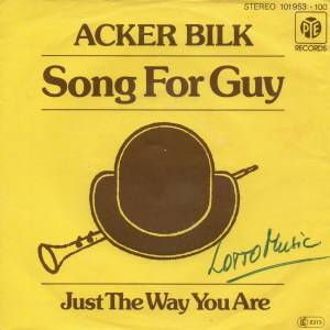 Cover - Acker Bilk: Song For Guy
