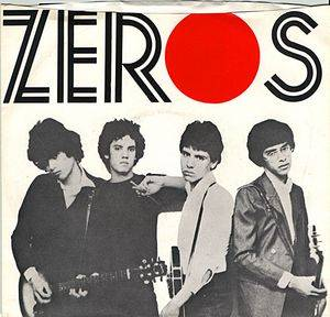 Cover - Zeros, The: Don't Push Me Around