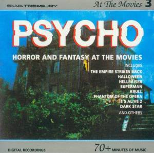Cover - Bernard Herrmann: At The Movies 3 - Psycho - Horror And Fantasy At The Movies