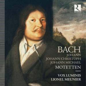 Cover - Johann Michael Bach: Motets Of The Bach Family