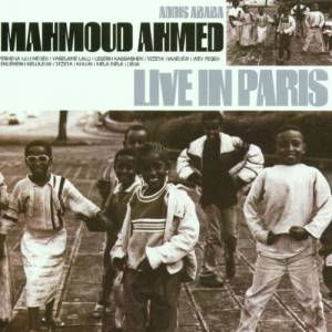 Cover - Mahmoud Ahmed: Live In Paris