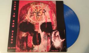 Slayer: Live In San Diego 12-10-88 - Cover