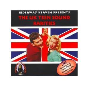 UK Teen Sound Rarities, The - Cover