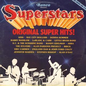 Superstars - Original Super Hits! - Cover