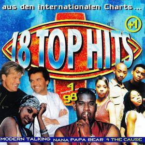 Cover - Phil Fuldner: 18 Top Hits Aus Den Internationalen Charts - 4/98