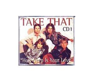 Take That: How Deep Is Your Love - Cover