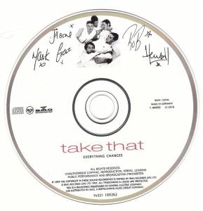 Take That: Everything Changes (CD) - Bild 4