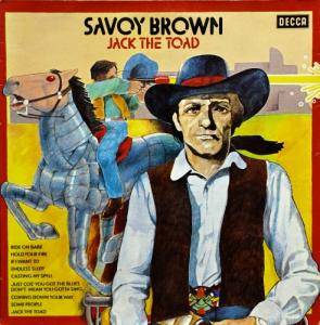Savoy Brown: Jack The Toad - Cover