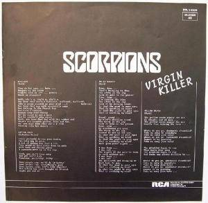 Scorpions: Virgin Killer (LP) - Bild 5