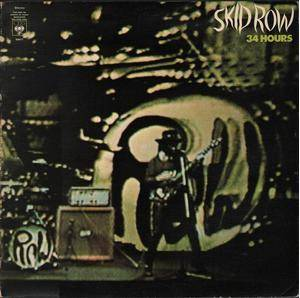 Skid Row: 34 Hours - Cover