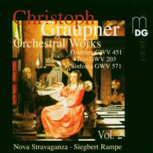 Cover - Christoph Graupner: Orchestral Works Vol. 2