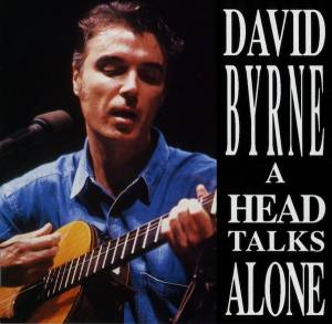 David Byrne: Head Talks Alone, A - Cover