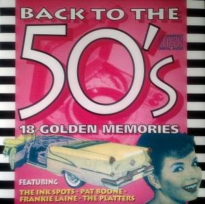 Cover - Gogi Grant: Back To The 50's - 18 Golden Memories