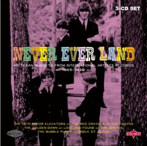 Cover - Spades, The: Never Ever Land - 83 Texan Nuggets From International Artists Records 1965-1970