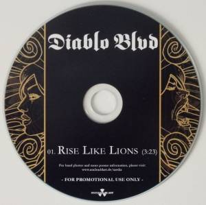 Diablo Blvd: Rise Like Lions (Promo-Single-CD) - Bild 3