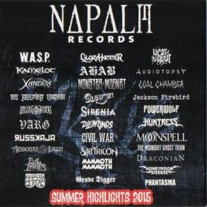 Napalm Records Summer Highlights 2015 - Cover