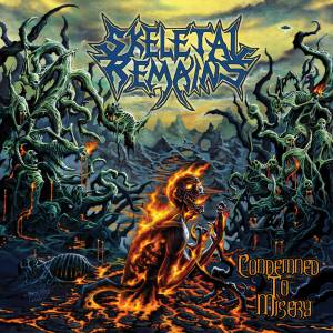 Skeletal Remains: Condemned To Misery - Cover
