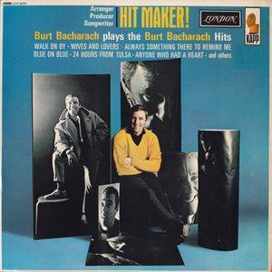 Cover - Burt Bacharach: Hit Maker!