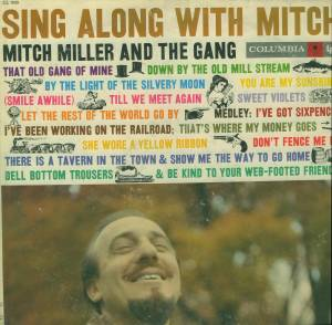 Cover - Mitch Miller & The Gang: Sing Along With Mitch
