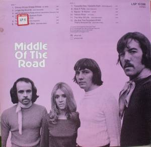 Middle Of The Road: Chirpy Chirpy Cheep Cheep (Promo-LP) - Bild 2