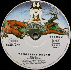 Tangerine Dream: Ricochet (LP) - Bild 3