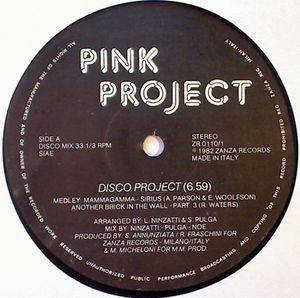 Cover - Pink Project: Disco Project / Child Of Tomorrow
