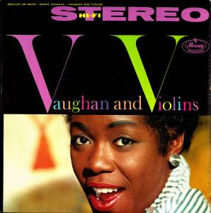 Cover - Sarah Vaughan: Vaughan And Violins