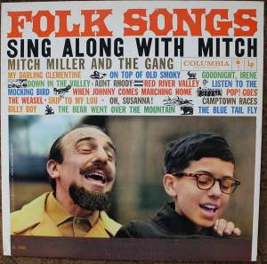 Cover - Mitch Miller & The Gang: Folk Songs Sing Along With Mitch