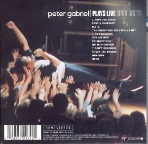 Peter Gabriel: Plays Live (CD) - Bild 2