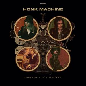 Cover - Imperial State Electric: Honk Machine